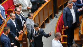 Ukraine's parliament rebels against president's decree
