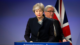 May's relationship with EU was often rocky