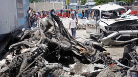 Suicide car bomb kills 6 in Somalia's capital, Mogadishu