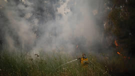 Israel braces for more wildfires as temperatures spike