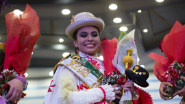 'Queen of Great Power' chosen at Bolivian festival