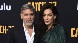 George Clooney worried for family's security as wife Amal takes on ISIS case