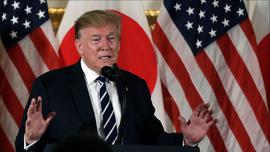 Trump downplays North Korean missile tests