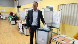 The Latest: Polls open in Czech Republic, centrists seek win