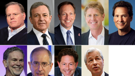 Discovery's Zaslav, Disney's Iger among highest paid CEOs