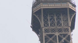 Eiffel Tower closed 'until further notice' after climber scales iconic Paris attraction