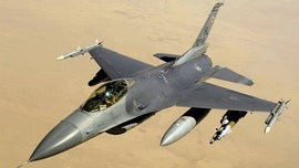 Air Force F-16 fighter jet from 1980 for sale in Florida