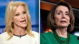 Kellyanne Conway, Nancy Pelosi clash after Trump meeting with Democrats was cut short