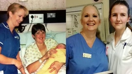 Midwife discovers that she delivered her assistant 19 years earlier