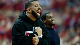 Drake seen massaging Toronto Raptors coach's shoulders as some question his behavior
