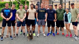 US Ambassador to Germany Richard Grenell marks Memorial Day with Murph Challenge alongside Marines