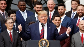 Trump honors 'very special' World Series champion Red Sox at White House