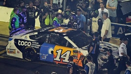 Clint Bowyer brawls with Ryan Newman at NASCAR All-Star race