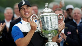 Brooks Koepka survives late stumble to retain PGA Championship by 2 shots, after starting day 7 ahead