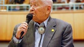 WWII Navajo Code Talker John Pinto dies at 94
