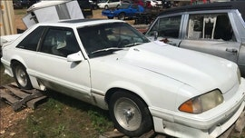 Stolen 1991 Ford Mustang discovered in Missouri barn 26 years later, police say