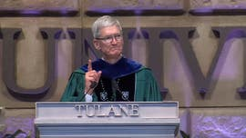 Apple's Tim Cook takes apparent swipe at Facebook, says his generation 'failed' on climate change in commencement speech