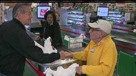 WWII veteran, 97, still works at New Jersey grocery store