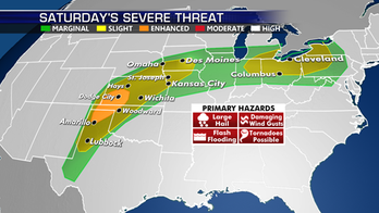 Severe thunderstorms, flash flooding continue to threaten Plains, Midwest