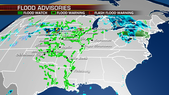 Severe weather threat for Plains ends but flooding continues