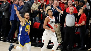Warriors defeat Blazers 119-117 in OT, heading to fifth straight NBA finals
