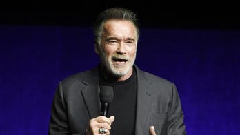 Arnold Schwarzenegger makes rapping debut in 'Pump It Up'