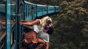 Instagram couple defends 'stupid' photo on moving train: 'We would never risk our lives'