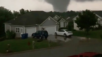 A 'violent tornado' has touched down in Missouri