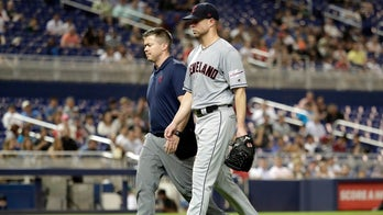 Two-time Cy Young winner Corey Kluber breaks pitching arm after being hit by 102 mph liner
