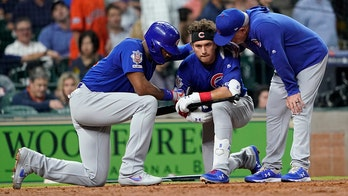 Foul ball off bat of Cubs player Albert Almora Jr. strikes child; play briefly halted