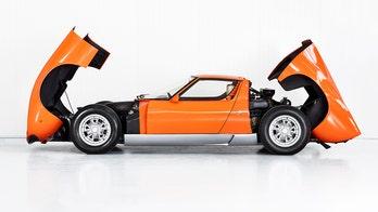 'Italian Job' Lamborghini Miura found after 50 years