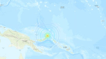 Tsunami alert issued after strong earthquake strikes Papua New Guinea