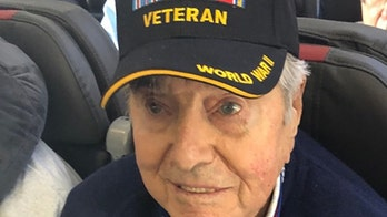 WWII veteran, 95, dies while returning from Honor Flight trip to Washington, DC