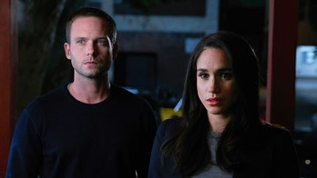 Meghan Markle's former 'Suits' co-star Patrick J. Adams says he's 'intimidated' to call the Duchess of Sussex