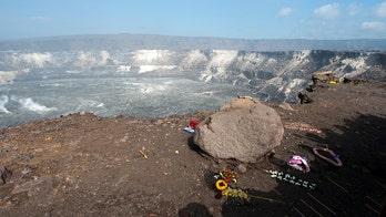 Soldier, 32, falls from 300-foot cliff into Kilauea volcano's caldera, survives, officials say