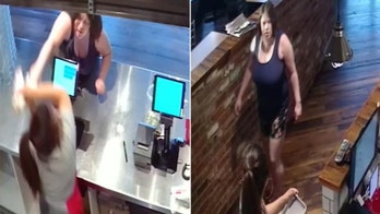 Woman who smacked restaurant employee with takeout bag was 'upset' with sandwich