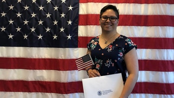 Lucia Suarez Sang: I'm a proud (new) American – And this happened when I said my first Pledge of Allegiance
