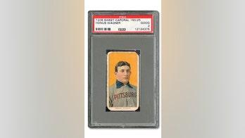 Honus Wagner baseball card sells for $1.2 million