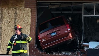 McDonald's smashed by van weeks after being struck by another vehicle