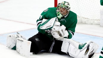 Dallas Stars' Ben Bishop, struck in collarbone by puck, allows controversial goal as Game 7 looms