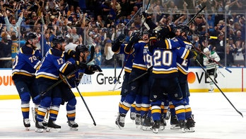 Maroon's OT goal lifts Blues past Stars in Game 7