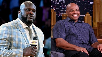 Shaq threatens to knock Charles Barkley's 'a-- out' during hilarious live NBA playoffs coverage