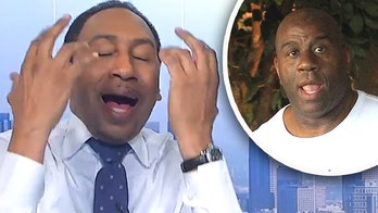 ESPN star has on-air meltdown, bashes own network over timing of Magic Johnson, Los Angeles Lakers report