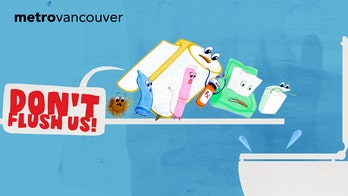 Metro Vancouver floats two new terrible mascots for 'Unflushables' campaign