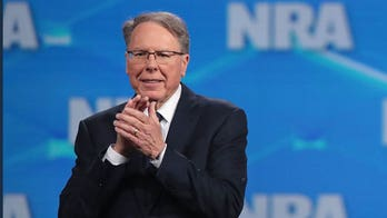 NRA Board member calls on CEO LaPierre to resign amid spending allegations