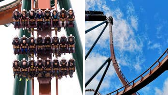 Canadian theme park's newest roller coaster isn't for the faint of heart
