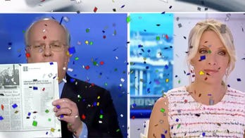 Karl Rove wishes longtime colleague Dana Perino a happy birthday on her show