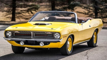 Rare Plymouth Hemi Cuda muscle car sold for nearly $2 million