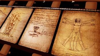 Leonardo da Vinci's hair allegedly found