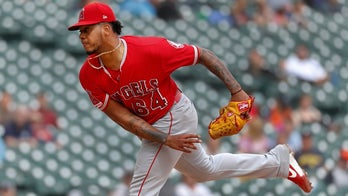 Angels pitcher Felix Pena credits peanut butter and jelly sandwiches for his successful outing